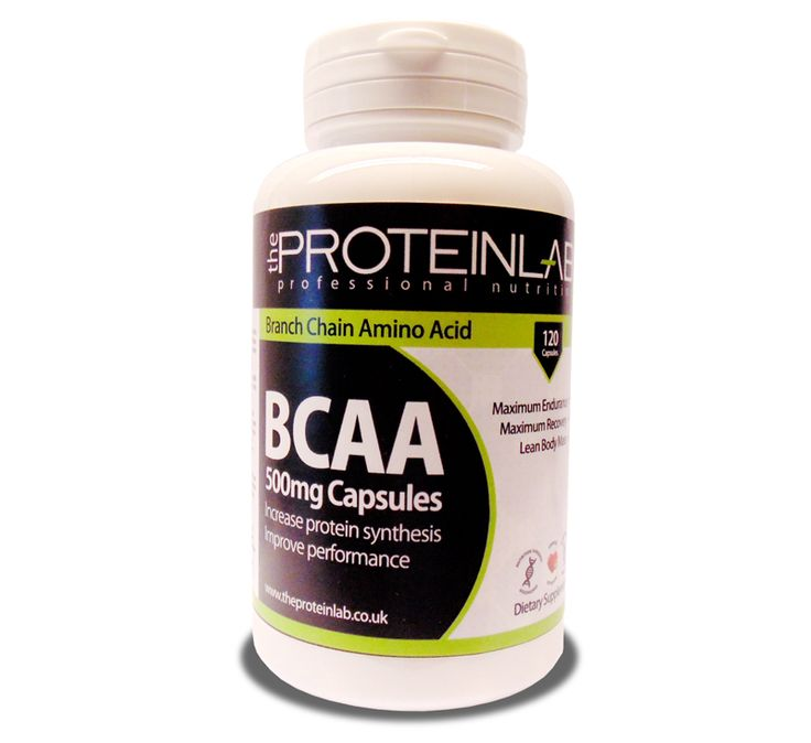 BCAAs Branched Chain Amino Acids consist of the three amino acids Leucine, Isoleucine and Valine. BCAAs cant be produced by the body therefore must be supplied by diet. The Protein Labs BCAAs have been specially formulated to be metabolised directly into the muscle where they are needed most.