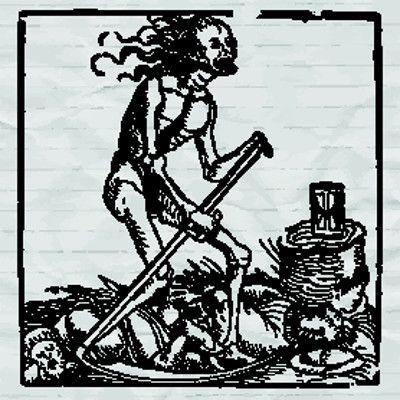 Imagem simbolizando a Peste Negra