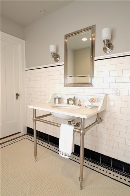 Platinum gray grout - Judy Klein Design