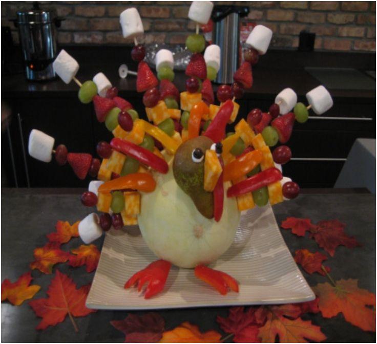 Top 10 Fun and Healthy Edible Thanksgiving Centerpieces - Top Inspired