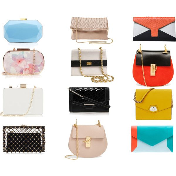 bags by blondavapotvora on Polyvore featuring Charlotte Olympia, Chloé, Chanel, YLIANA YEPEZ, Nine West, Deux Lux, Oasis and Lipsy