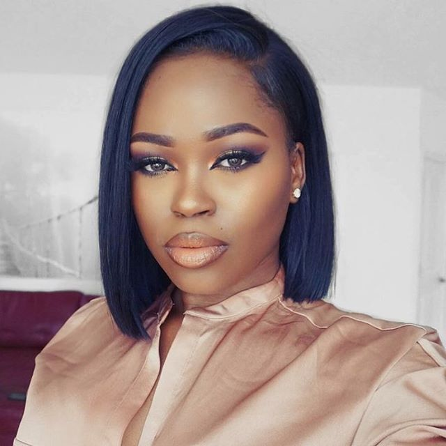 Black Hair Style 11 Fierce Relaxed Bobs For Black Women  Hairstyle Guru  Love
