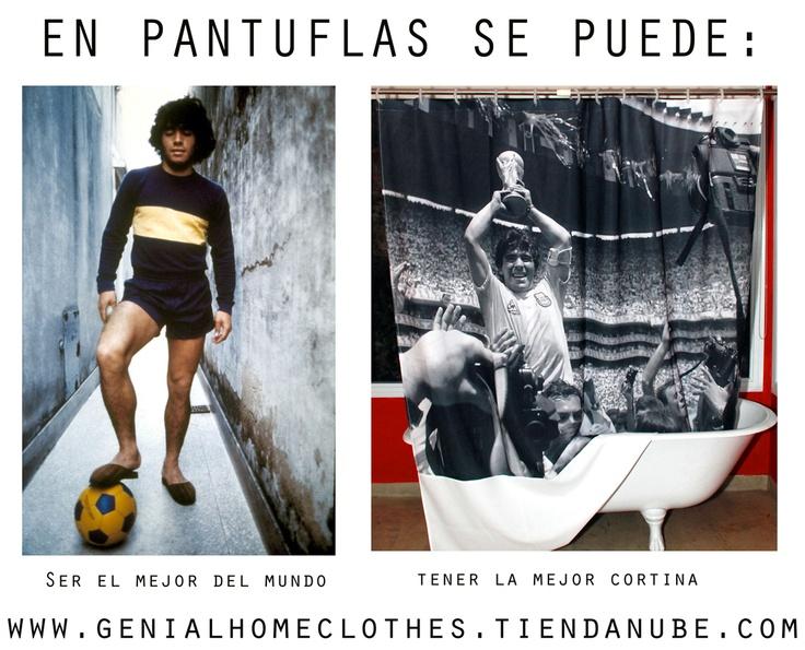 Cortinas de baño DIEGO!I! GE-NI-A-LES! www.genialhomeclothes.tiendanube.com