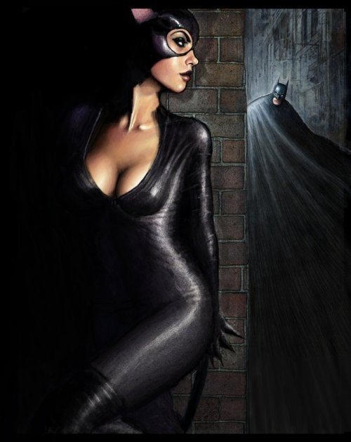 Everyone knows Catwoman wanted some action from Batman. Too bad Batman was so honorable. That would have created some incredibly sexy encounters!