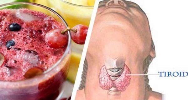 Niedoczynność tarczycy: napój na zapalenie, wyregulowanie i odchudzanie