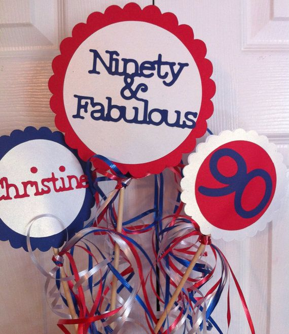 21 best grandpas birthday images on pinterest 90th for 90th birthday decoration