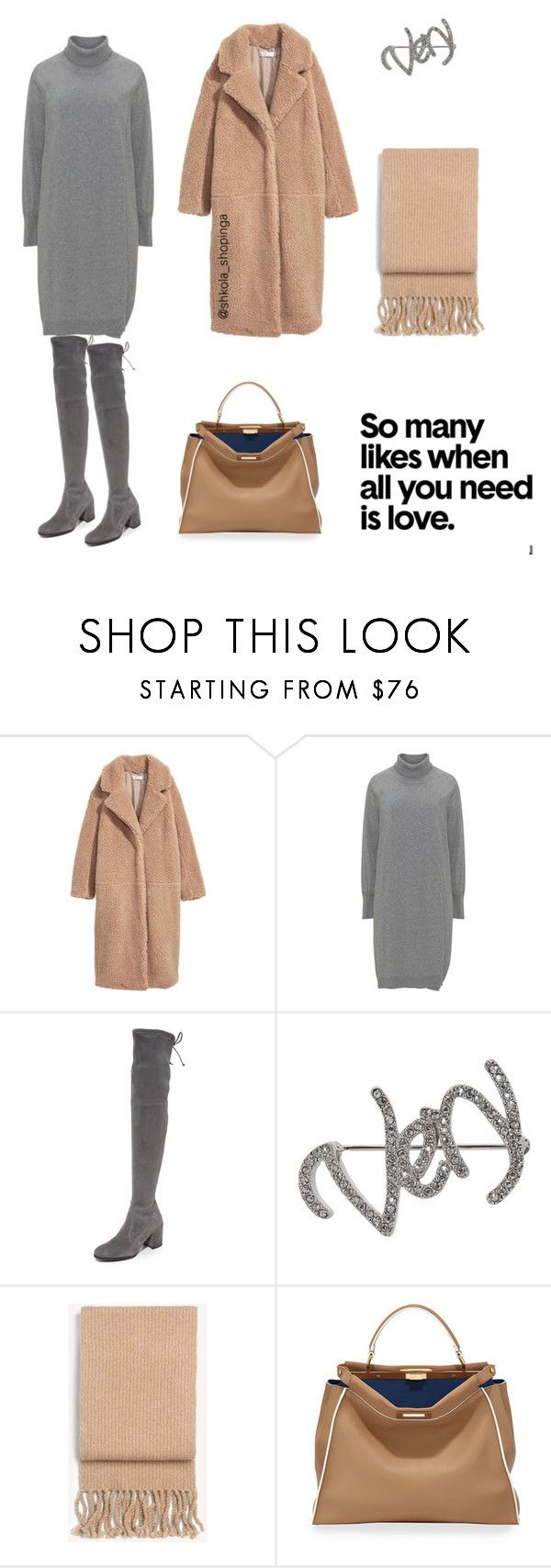 """База"" by shkolashopinga ❤ liked on Polyvore featuring Stuart Weitzman, Isabel Marant, rag & bone and Fendi"