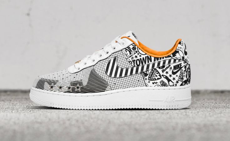 The Nike Air Force 1 Low NYC will be offered in two laser-etched iterations to celebrate the new Nike SoHo retail store.