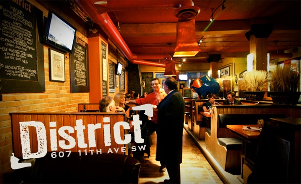 District Gastropub in Calgary - where foodies love to drink!