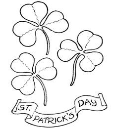 crayola shamrock coloring pages - photo#13