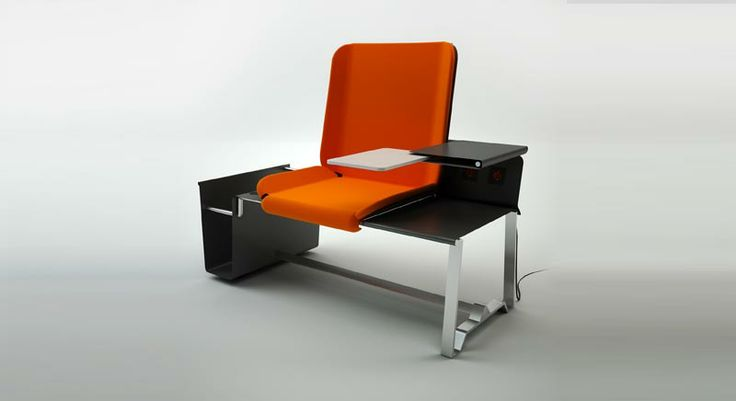 REST POINT © Dr.HAKAN GÜRSU / DESIGNNOBIS Rest Point is a personal seating unit for airports and public spaces.