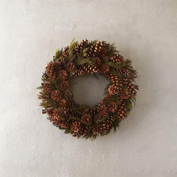 Cedar Cones Wreath