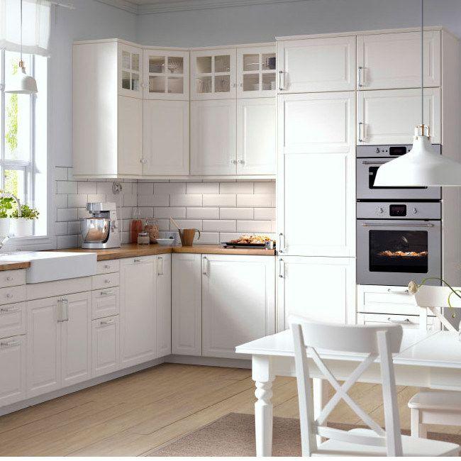 59 best kuchnia images on Pinterest Kitchen ideas, White - küche ikea landhaus