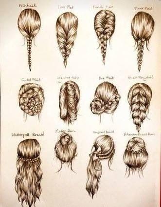 Para cada ocacion un peinado !