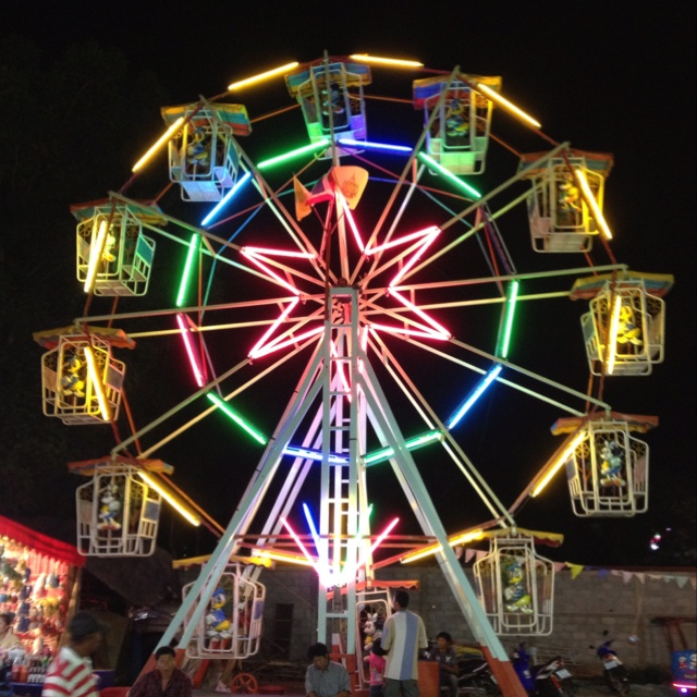 Ferris Wheel at Hua Hin local festival