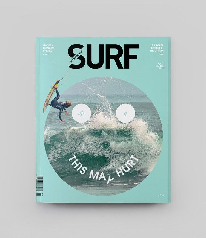 SURF雜誌封面的簡潔改版   MyDesy 淘靈感