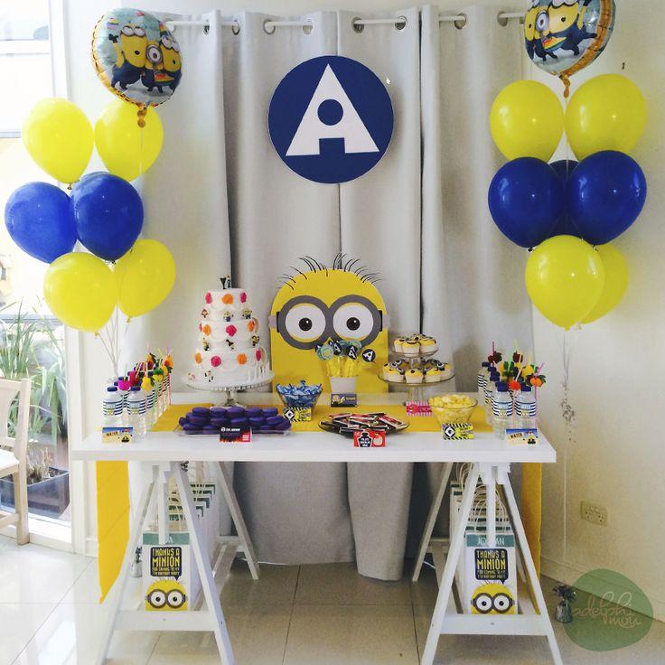 38 best Despicable Me Minion Party images on Pinterest Minion