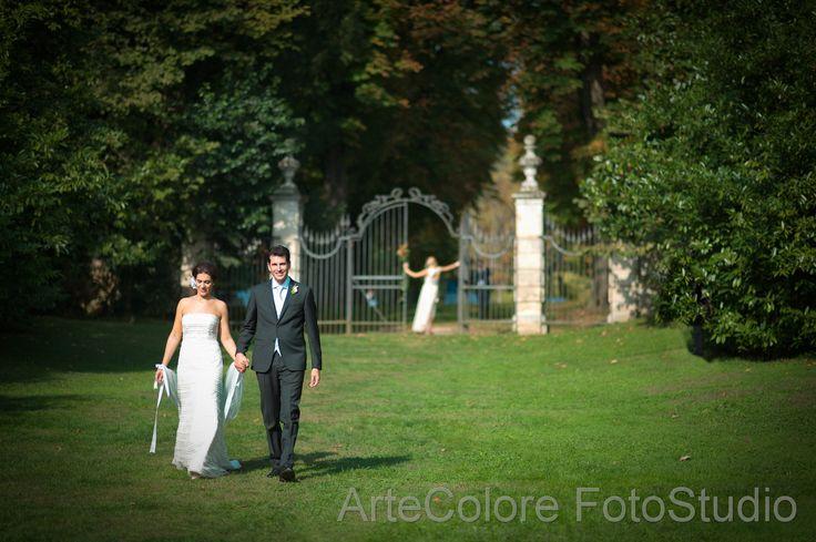 foto agli sposi a villa mosconi bertani verona reportage di matrimonio