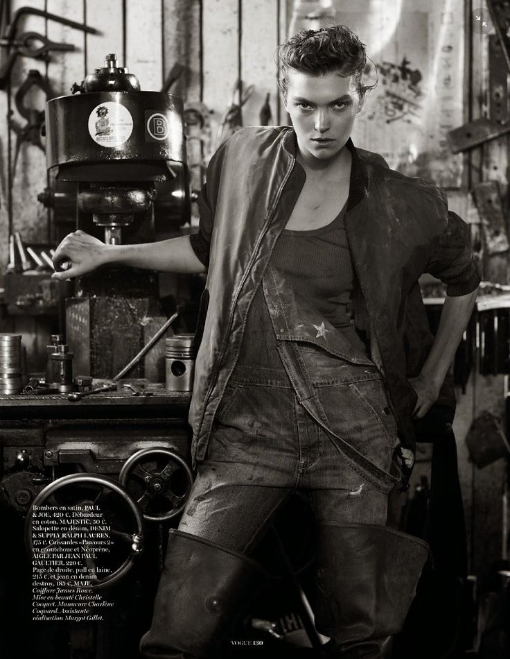 Working Girl: Vogue Paris August 2014 | Arizona Muse by Mark Segal [Editorial]