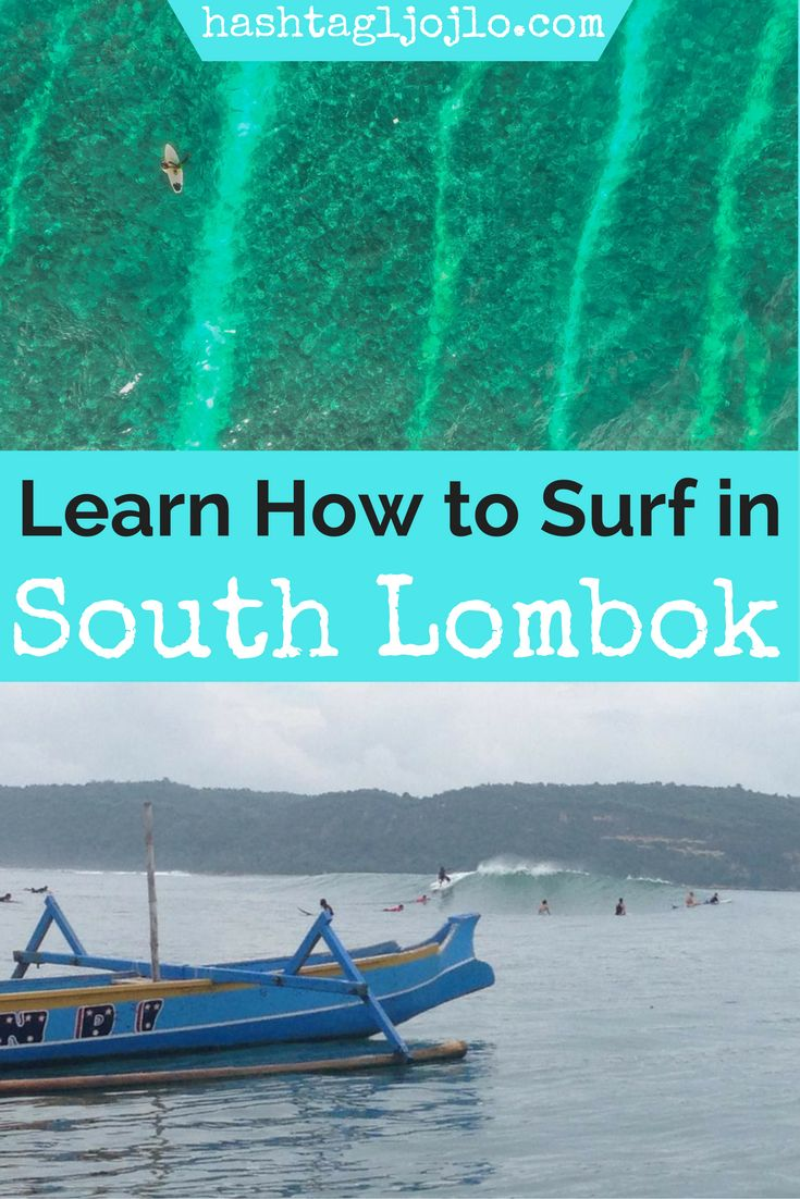 If you're looking for things to do in South Lombok, Indonesia, you should check this out. We love going surfing and taking surfing lessons in Lombok. You'll have a blast and get to try something new. Make sure you save this to your travel board so you can find it later.
