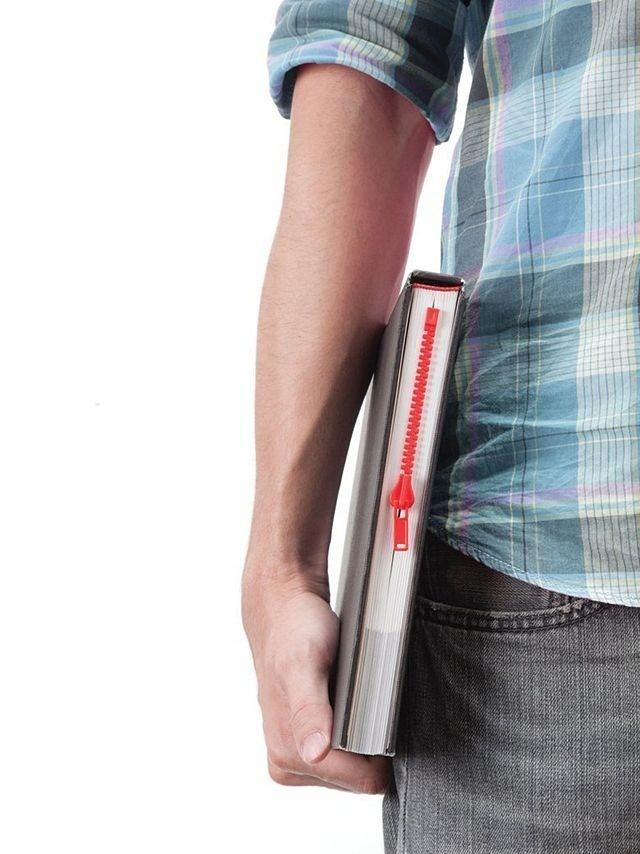 separador que parece un zipper