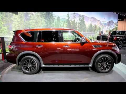 After a brief hiatus, Nissan's full-size Armada SUV is making a return. The latest generation was unveiled today at the 2016 Chicago Auto Show. It's set to go on sale later this year, as a 2017 model. Importantly, it's no longer related to Nissan's Titan workhorse, though it still...