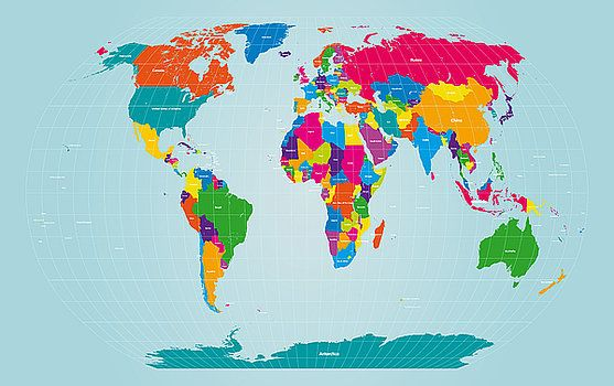 232 best carte du monde images on pinterest cards worldmap and michael tompsett world map gumiabroncs Images