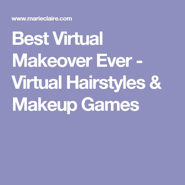 Best Virtual Makeover Ever - Virtual Hairstyles & Makeup Games