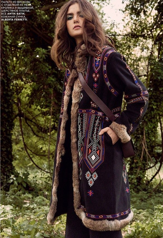 Maria Kiyanitsa for Vogue Russia by Bjarne Jonasson