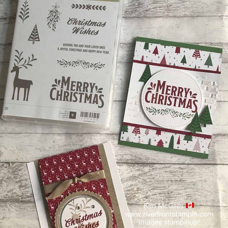 Stampin Up Christmas Craft Fair Ideas Part - 50: Stampin Up! Merry Mistletoe Stamp Set Is Perfect For Elegant Christmas  Cards. Especially When