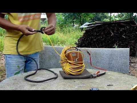 how to make electric welding machine - YouTube