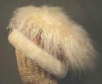 Warm  Furry Sheepskin Hat Made in the USA