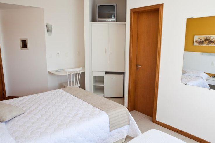 Apartamento Luxo Triplo. #florianopolis #floripa #canasvieiras #hoteisemflorianopolis #hotelemflorianopolis