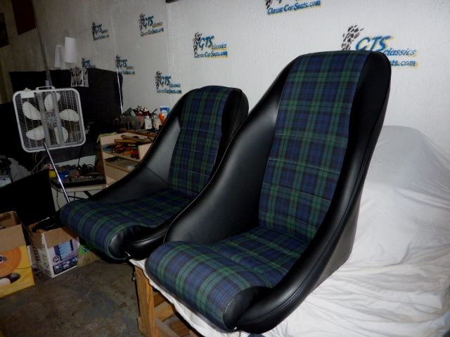 our 39 rallye 39 and 39 nurburgring 39 seats in leatherette and with black watch tartan as seating. Black Bedroom Furniture Sets. Home Design Ideas