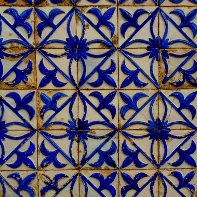 Tiles in Azores.
