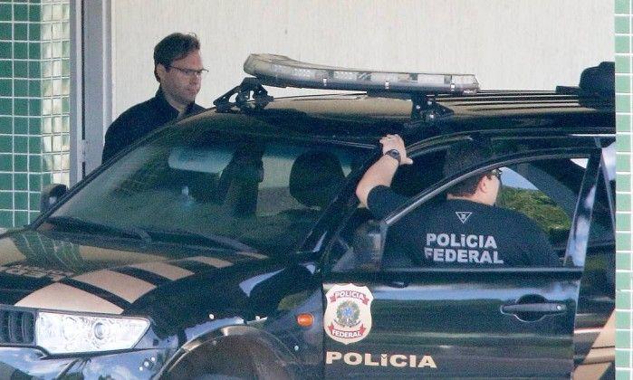 Alvos da Operação Blackout foram levados para a Superintendência da PF no Distrito Federal