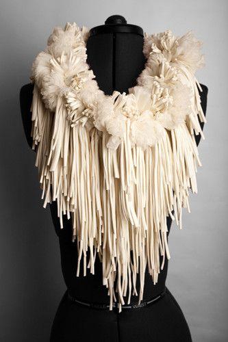 Rowan Mersh | Fabric Sculpture. Collezione conservata nel Victoria and Albert Museum.