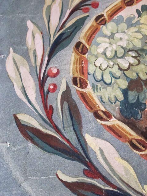 L'almanach désuet: Cartons à tapisserie | Tapisserie, Dessin mural, Peinture décorative