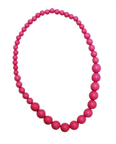 Designer girls accessories - Candy Summer Necklace - Hot Pink    Price: $12.95    Description:         Add a pop of colour to any outfit with this sweet and oh so chic hot pink bead necklace - your mini fashionista will love it!  http://www.littlebooteek.com.au/Gift-Ideas/64/catlist.aspx . Designer girls accessories - Candy Summer