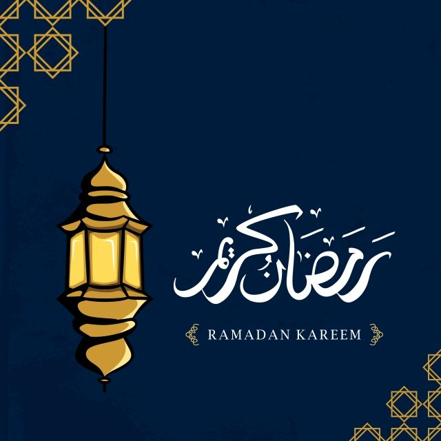 Ramadan Kareem Greeting Design With Lantern Hand Drawn And Arabic Calligraphy Illustration Ramadan Background Png And Vector With Transparent Background For How To Draw Hands Ramadan Kareem Ramadan