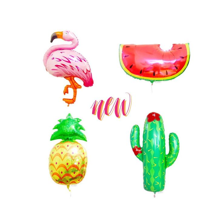 A personal favorite from my Etsy shop https://www.etsy.com/listing/270827383/new-cactus-mylar-balloon