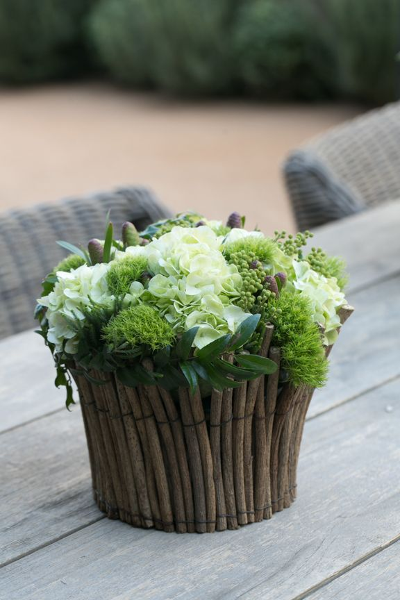 Cute table arrangement ~ Eddie Zaratsian