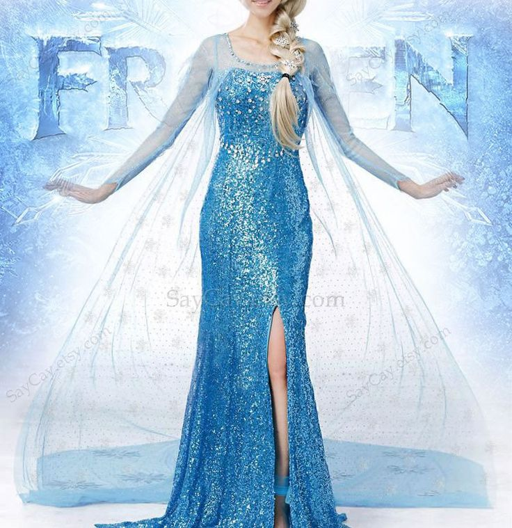 Disney Frozen birthday frozen dress frozen party frozen by SayCay, $99.00