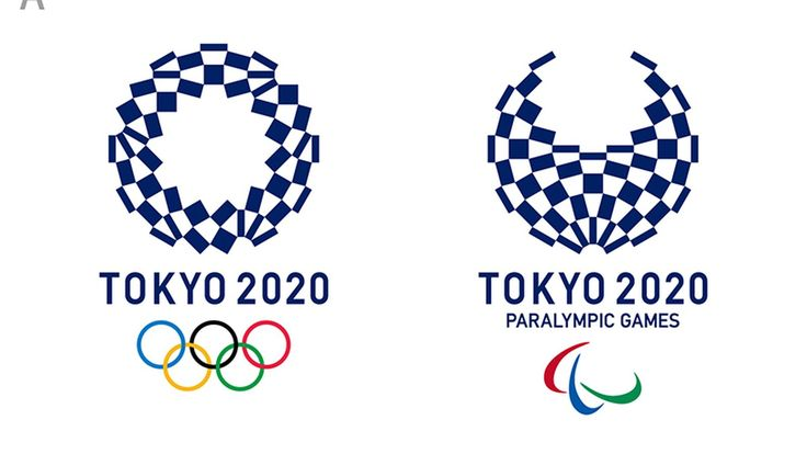 """••New Official logo 2020 Olympic + Paralympic Games in Tokyo•• New because of design plagiarism controversy - imagine the cost of such mistakes! • new logo """"harmonized chequered emblem"""" by Asao Tokolo (Japanese designer known for intricate, mathematical motifs) - winner of 15,000 new submissions unveiled Apr8, voted by public •old logo by Kenjiro Sano dismissed 2015-09; plagiarism: 1. used images from internet + copied from old campaign; accused by Belgian designer Olivier Debie 2015-07"""