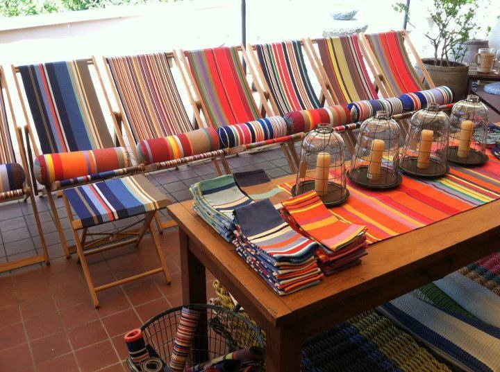strandstoellopers stripey stuff toile pare soleil. Black Bedroom Furniture Sets. Home Design Ideas