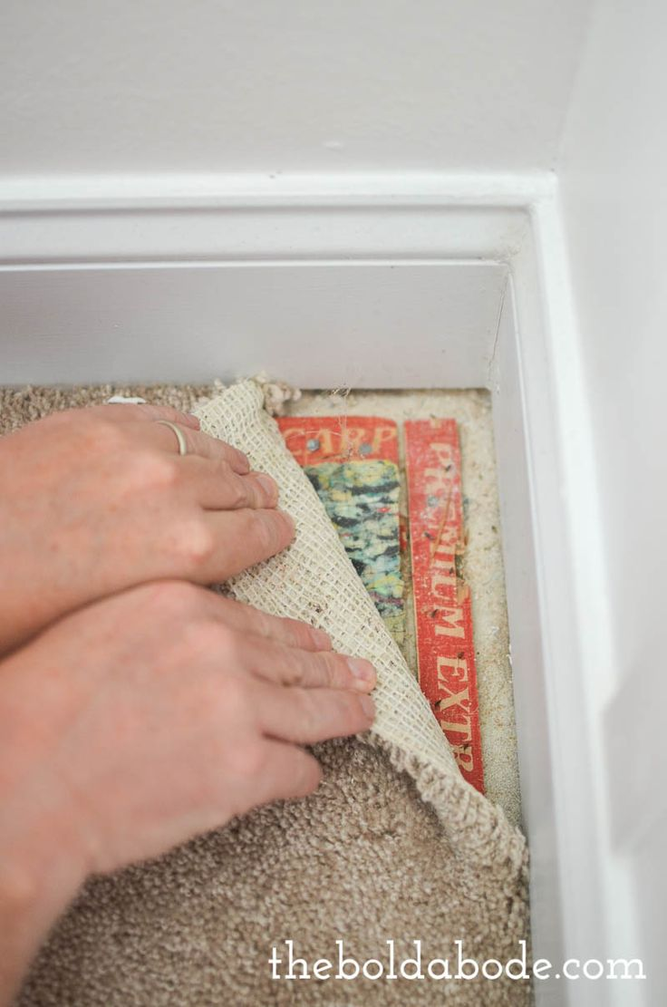 How to rip up carpet: Save money by doing the demo yourself! It's not hard at all!