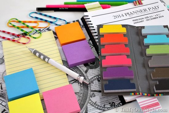 Organizing-a-Daily-Planner-Tips