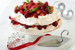 You'll be the most popular person at the party bringing this delicious Pavlova Layer Cake.
