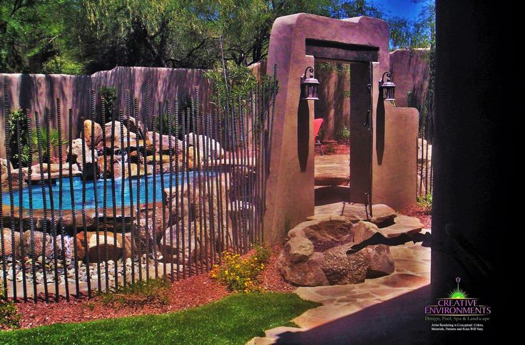 Metal is an ideal material to combat the harsh sun in Phoenix. Creative Environments can custom design a trellis, shade sail, planter boxes, or arbor for your outdoor environment. With a full metal shop working around–the–clock, no job is too big or too small.