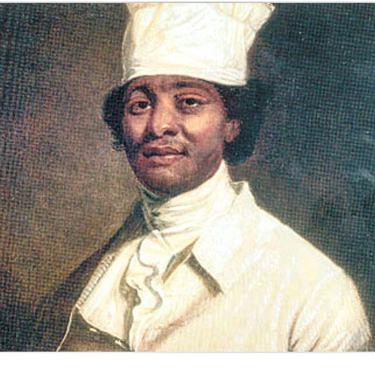 """This is James Hemings... The slave & personal ""Chef"" to Thomas Jefferson.... Considered by sum, to be America's first ""Great Chef"".... When Jefferson…"""